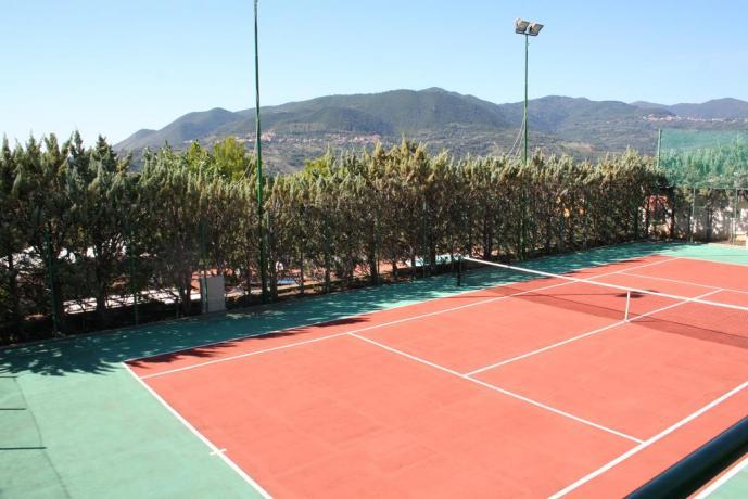 Campo da Tennis in Residence Centola Palinuro