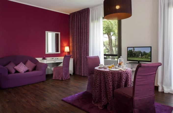 Accogliente suite con salottino Hotel Viterbo