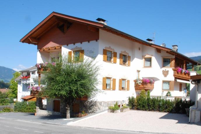 Villa Alpina con Centro Benessere in Trentino