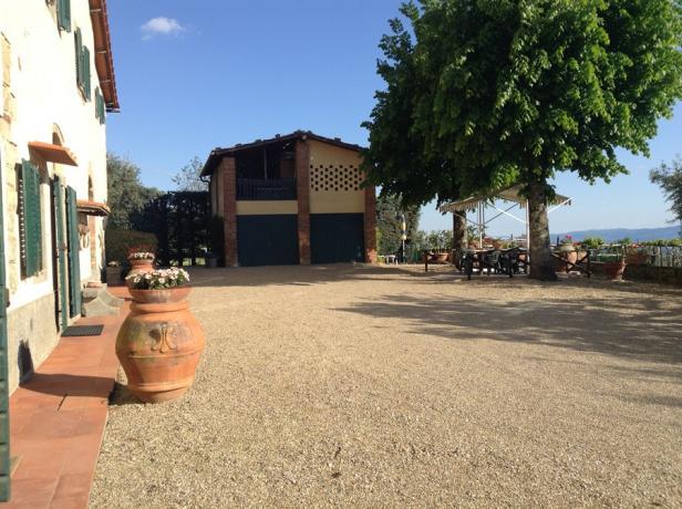 Casale in Toscana nel valdarno