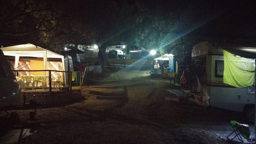 Piazzola di Notte in Villaggio a Palinuro