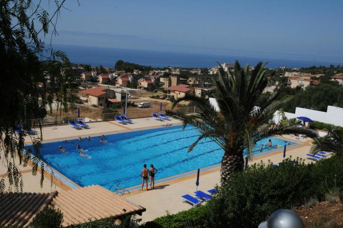 Residence a Sciacca con piscina