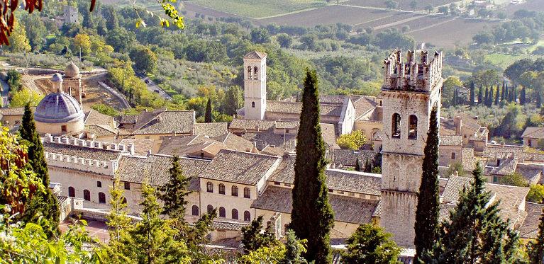 Assisi Borgo in Umbria Casale del Medioevo
