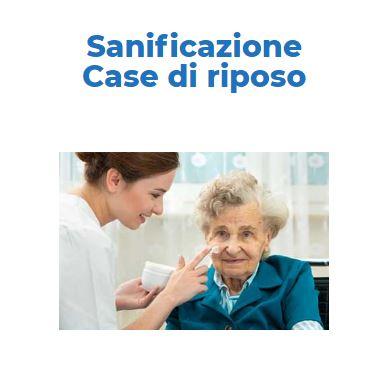 Sanificazione e Disinfezione Certificata COVID-19: CASE-DI-RIPOSO Roma