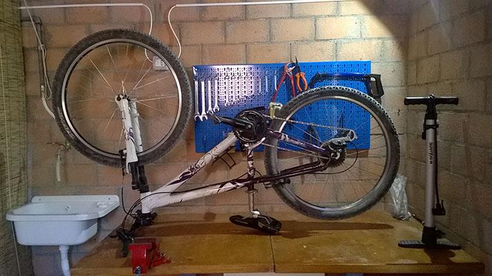 officina delle biciclette
