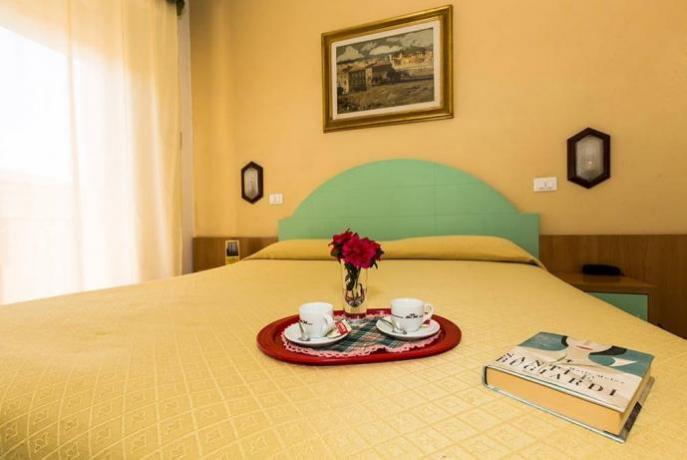 Camera Matrimoniale Hotel Il Carnevale a Viareggio (LU)