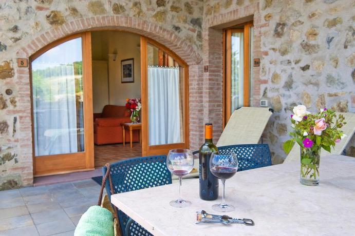 relax nel residence casa vacanze la campagna