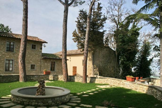Relais in Umbria con Giardino ideale per Relax
