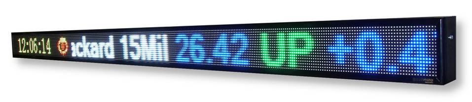 Display elettronici a led fullcolor a basso prezzo