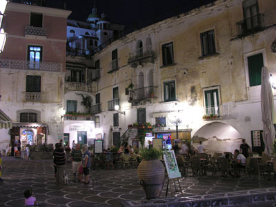Lovely Warm Evenings in Atrani, Province of Salerno