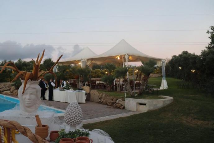 Agriturismo per feste private Trapani