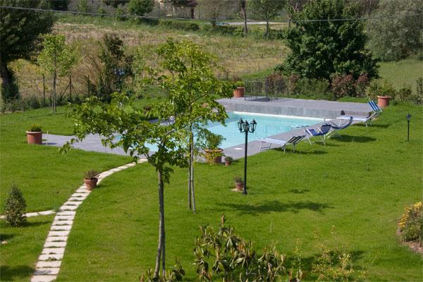 Casa Vacanze a Cortona con giardino e piscina