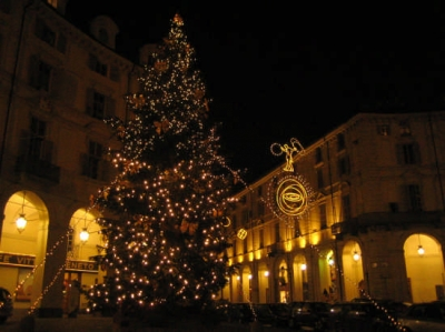stay in Turin for the event  Luci d'artista