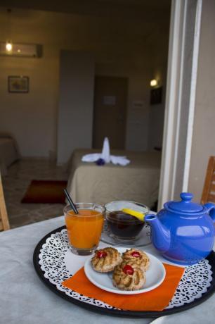 Colazione in camera hotel3stelle Trapani