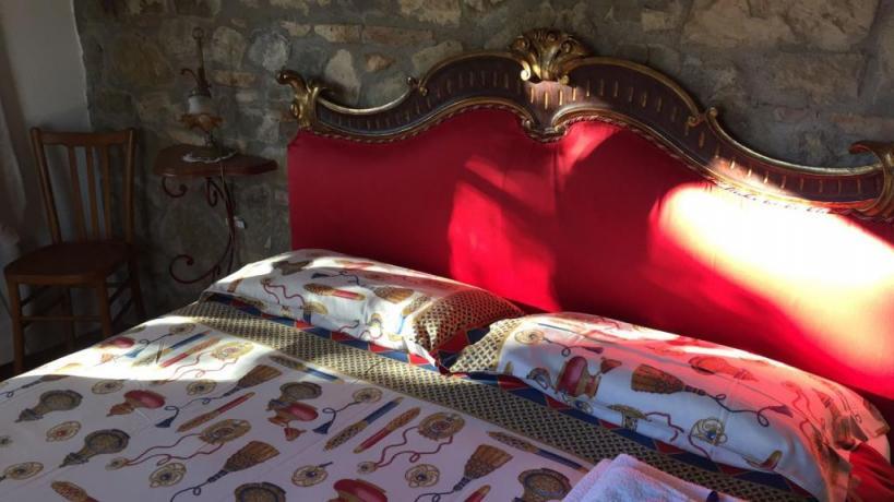 Camera matrimoniale Villa tra Umbria e  Toscana