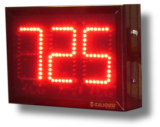 Display e Contatori industriali numerici elettronici a led