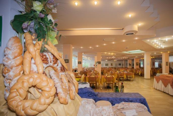 Sala ristorante hotel