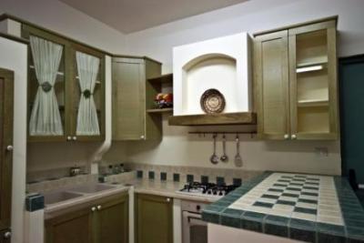 cucina in finta muratura ninfea cucine legno massello - produzione ... - Cucine In Finta Muratura In Offerta
