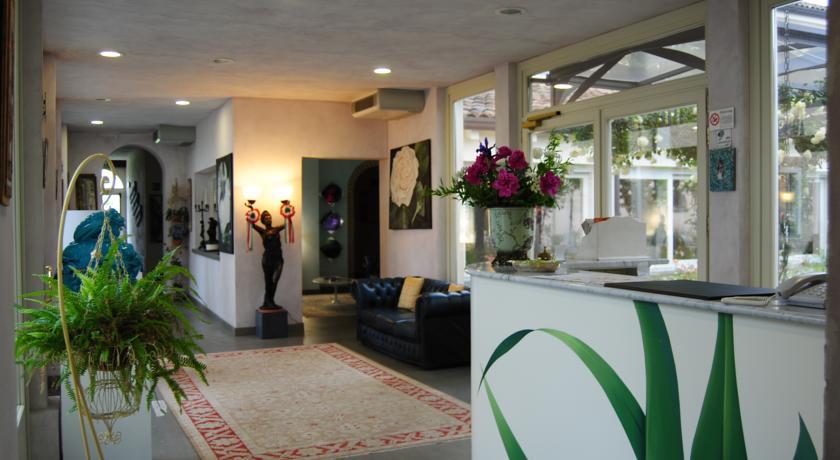reception hotel  stelle Ravenna relais villa Cascina