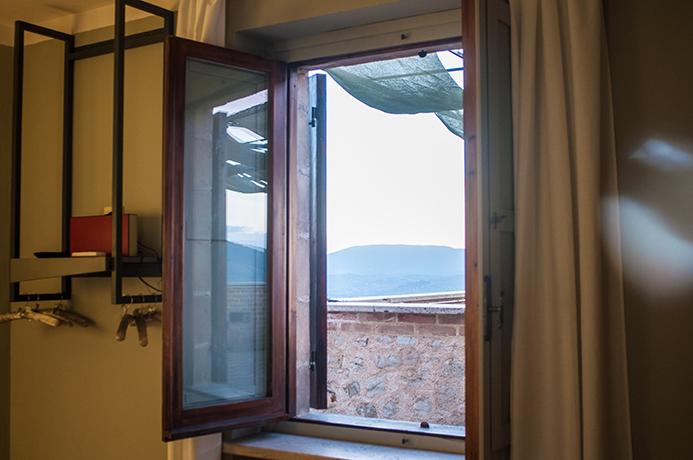 Suite con vista Panoramica a Spoleto Umbria