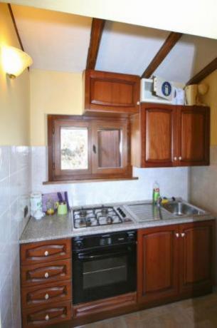 Cucina attrezzata appartamento Baita