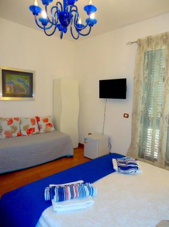 B&B Gallipoli camera matrimoniale, tv, aria condizionata