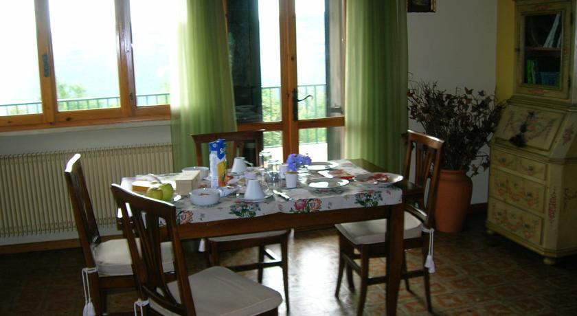 sala colazioni casa vacanze colli Berici