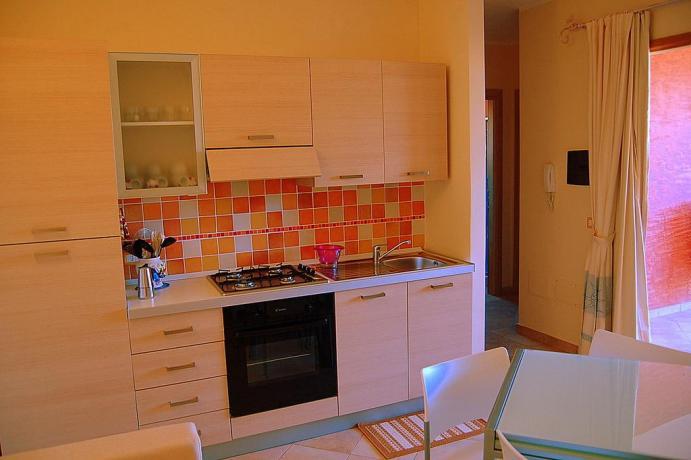 Appartamenti con angolo cucina in Sardegna