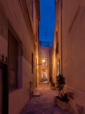 Una delle vie caratteristiche di Lecce