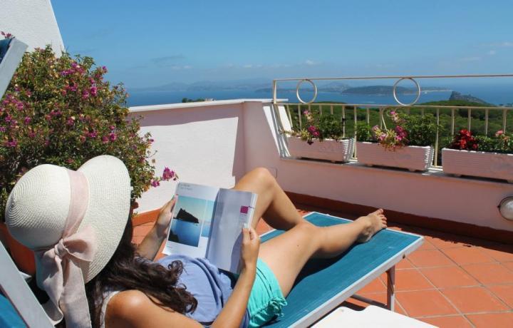 Casa vacanze a Barano d'Ischia con terrazzo panoramico