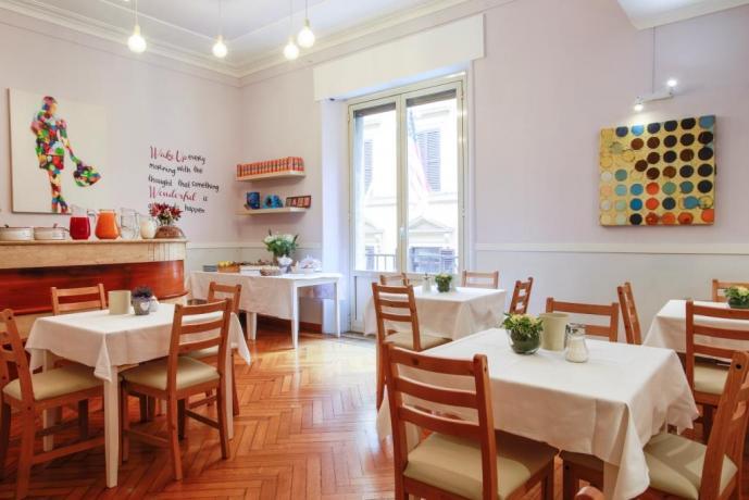 Camere e Colazione Continentale al Centro di Roma