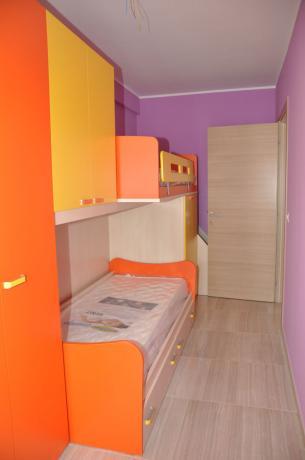 Camera con letto castello Residence sul mare