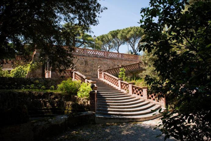 Hotel 5 stelle in Umbria con parco Perugia