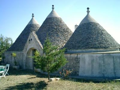 Apartments and Trulli-houses for Rent Near Castellana