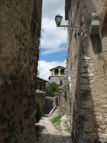 Albergo nel borgo medievale di Labro