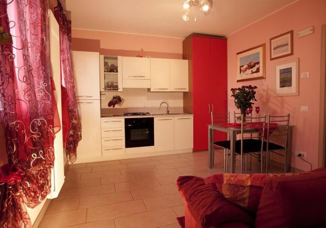 Appartamento Papavero cucina