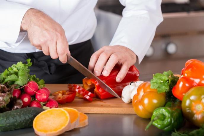 Preparazione della cucina
