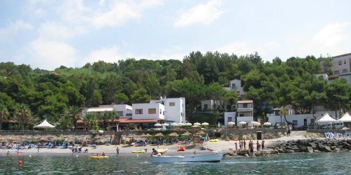 mare e spiaggia per bambini vicino Palinuro