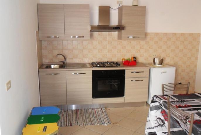 Agriturismo con Appartamento con Cucina a Pisciotta