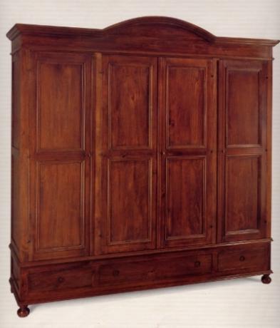 Sibilla mobili stile classico umbria camere legno massello produzione artigianale spello - Mobili stile indiano ...