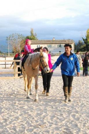 giri in pony per i bambini vicino assisi