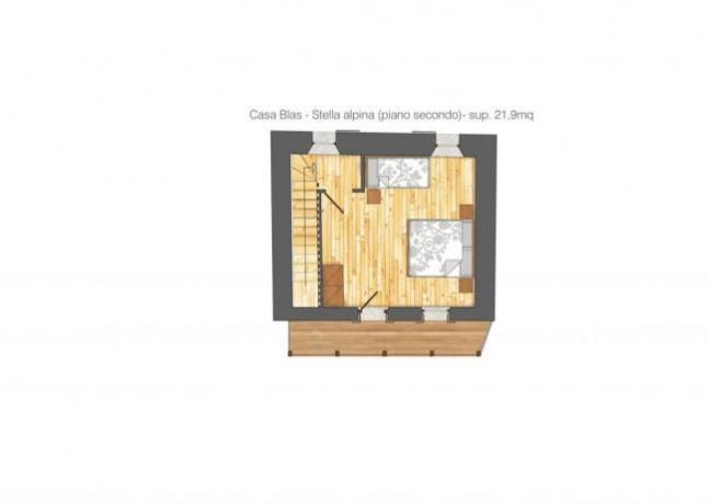 Casa Blas  Piantina 2 piano