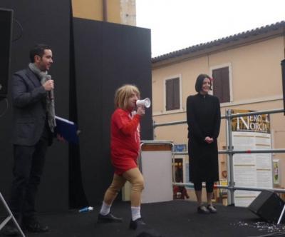 Ospiti famosi a Nero Norcia