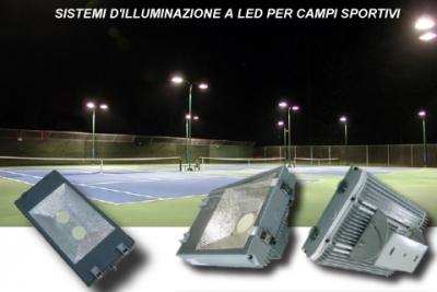 Lampade a LED per illuminazione di campi sportivi