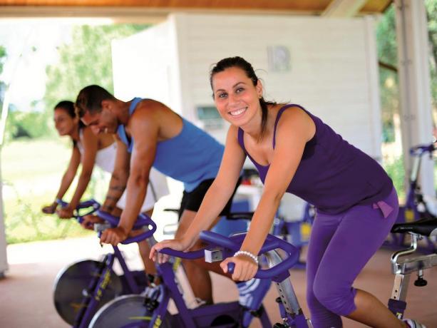 Area Fitness in Palestra, Calabria Villaggio Sportivo