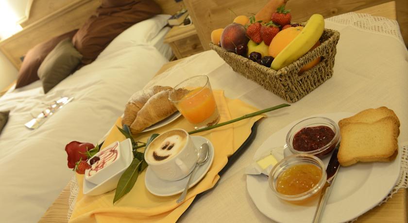 Albergo Trentino con colazione in camera