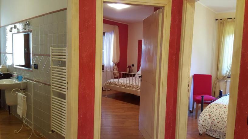 Appartamento con 2 camere matrimoniali a Ferentillo