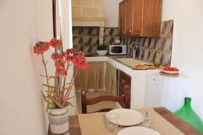Area cucina-pranzo Suite dell'Olivo