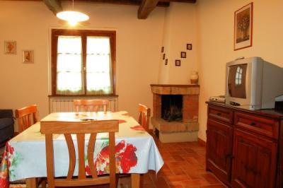 Sala da Pranzo con camino Gavignano
