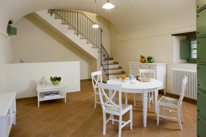 Resort a Valtopina con colazione in appartamento